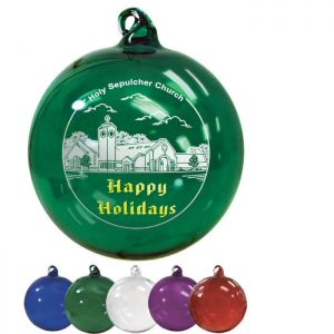 Hand Blown Glass Ornaments