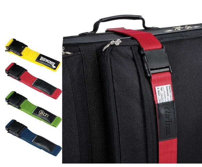 Luggage Bag Identifier Strap