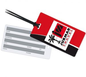Write White On Back Luggage Tags