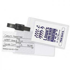 Slip in ID Luggage Tags