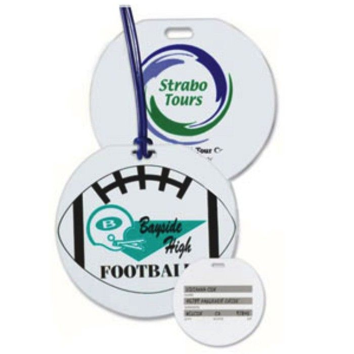 Round Sport Bags Luggage Tags