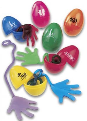 Sticky Hand In Easter Eggs