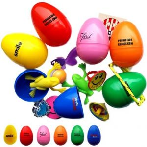 Toy Filled Easter Eggs
