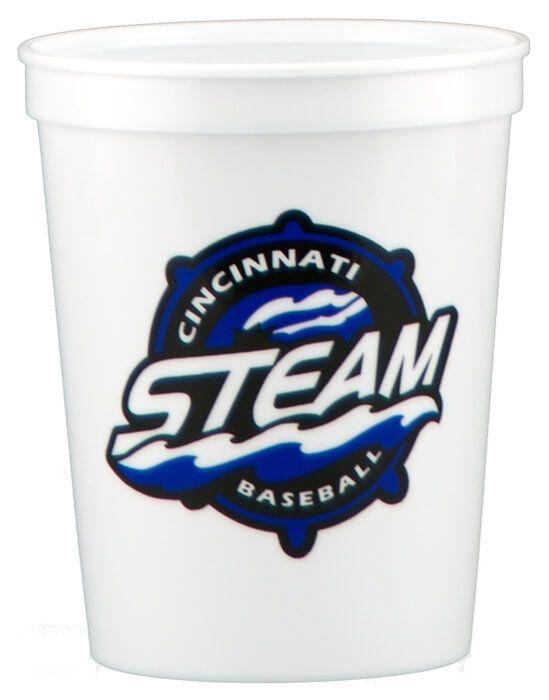 16oz Stadium Cups - White