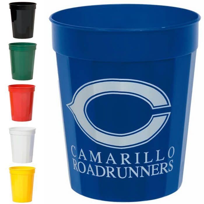 16oz Fluted Stadium Cups