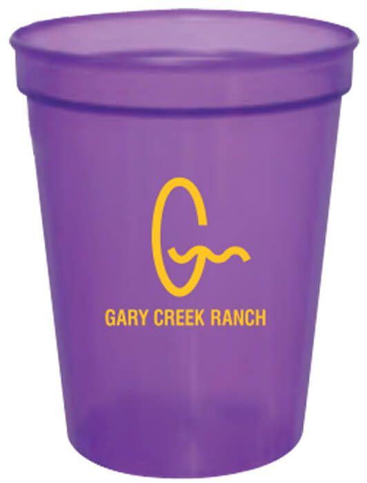 16oz Translucent Stadium Cups - Translucent Purple