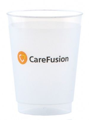 10oz Plastic Frosted Cups