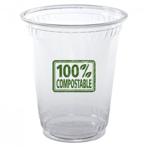 10oz Flex Eco Friendly Clear Plastic Cups