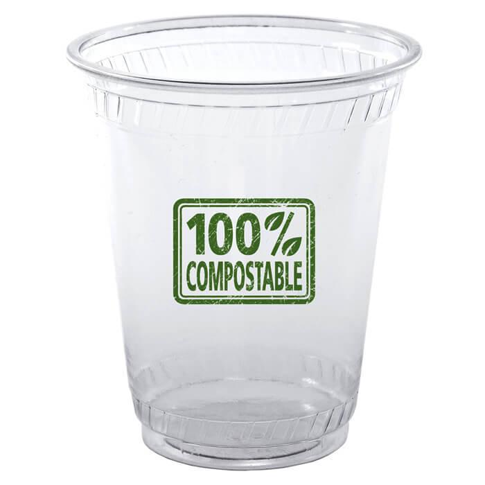 10oz Flex Eco Friendly Clear Plastic Cups