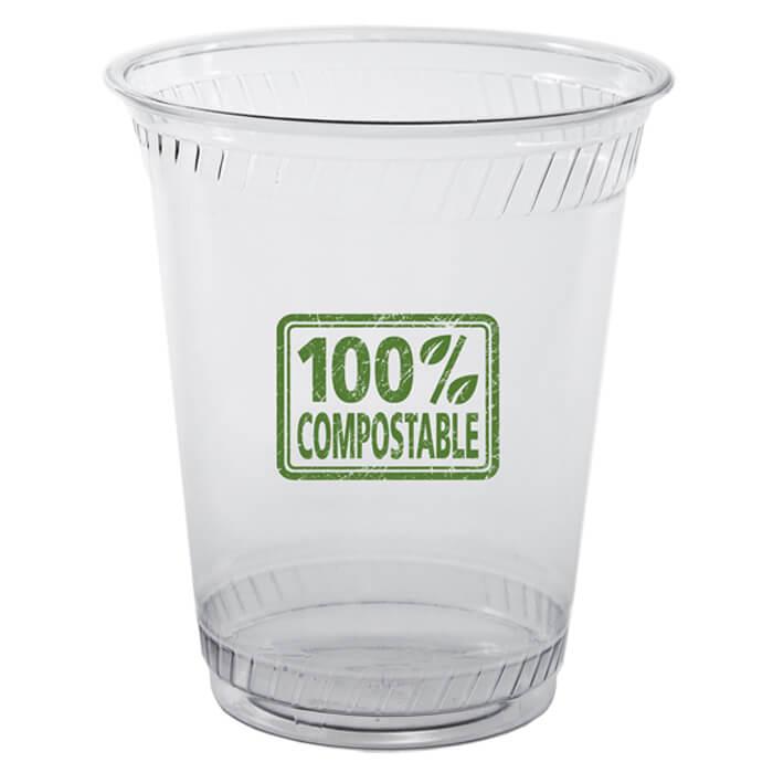 12/14oz Flex Eco Friendly Clear Plastic Cups