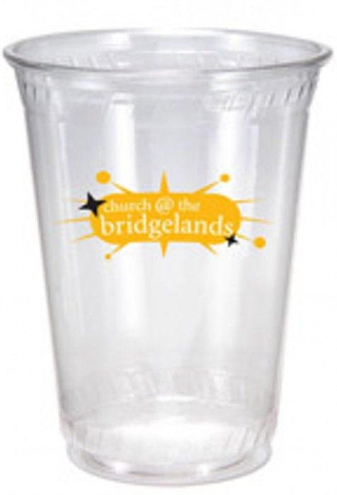 12/14oz Flex Eco Friendly Clear Plastic Cups