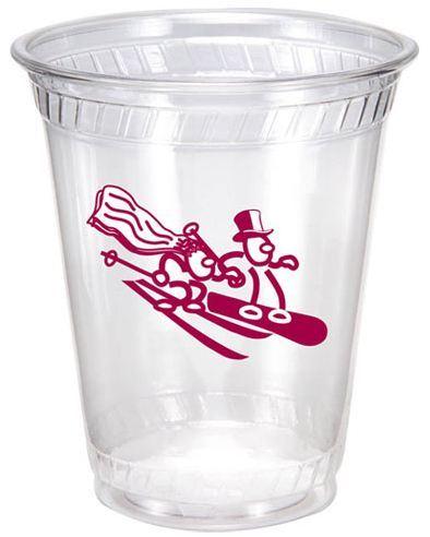 7oz Flexible Eco Friendly Clear Plastic Cups