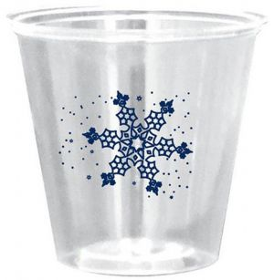 3.5oz Rigid Clear Plastic Cups