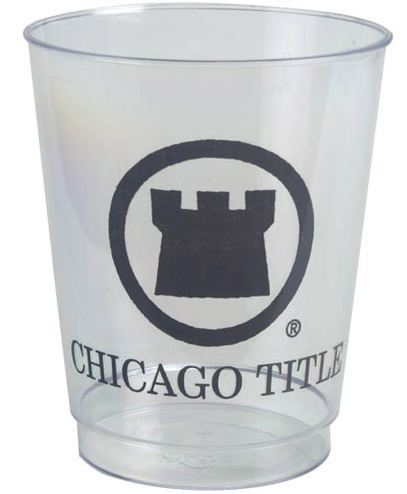 8oz Rigid Clear Plastic Cups