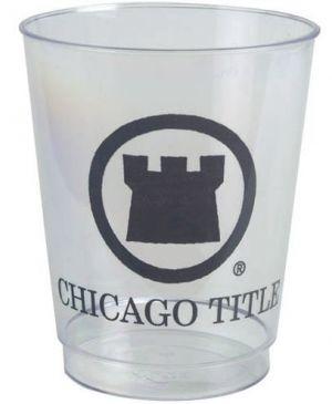 8oz Rigid Clear Plastic Cups