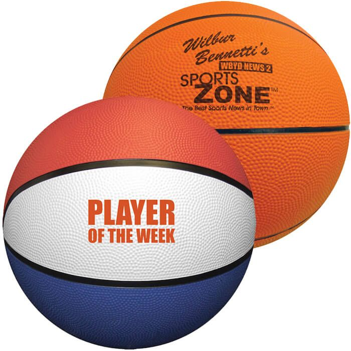 Full Size Rubber Basketballs