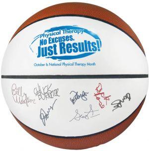 Full Size Synthetic Leather Signature Basketballs