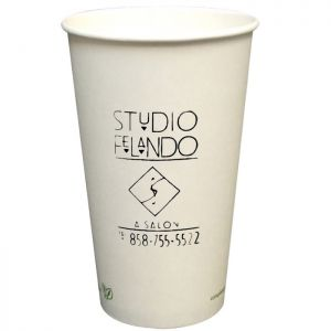 16oz Eco Friendly Paper Cups