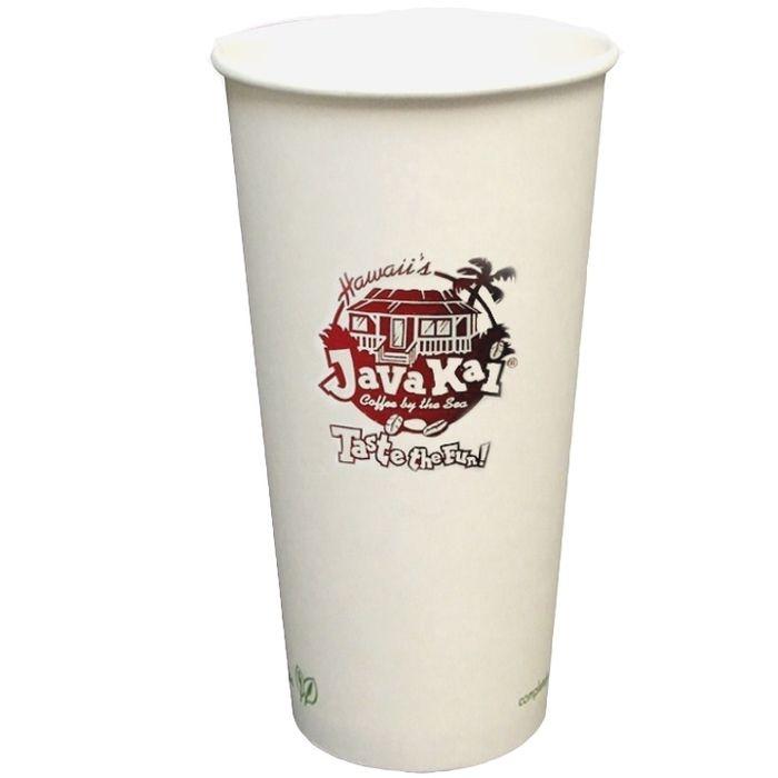 20oz Eco Friendly Paper Cups