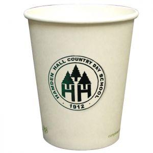 8oz Eco Friendly Paper Cups