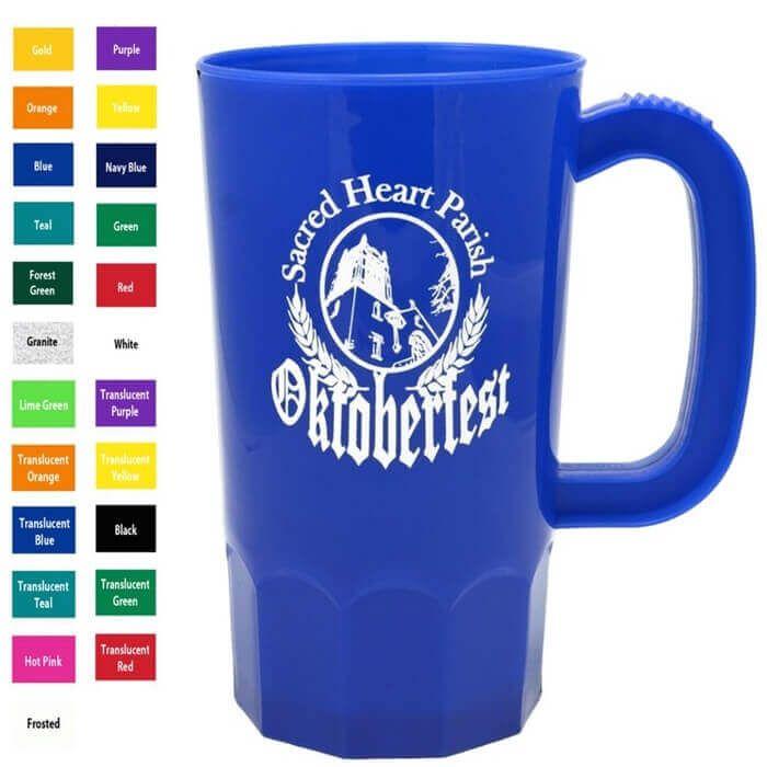 16oz Steins Cups