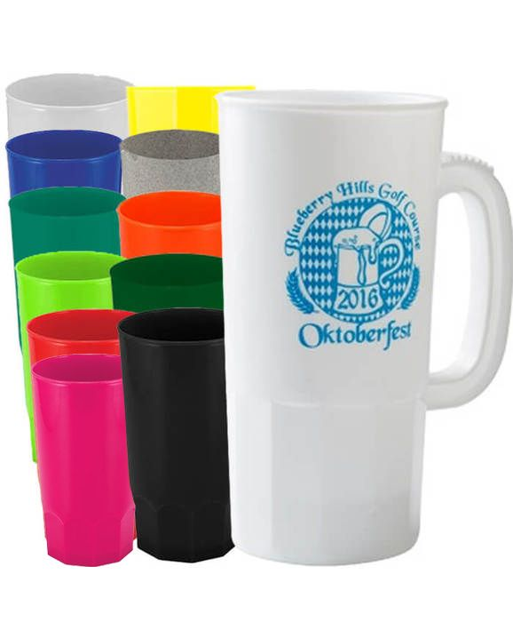 22oz Steins Cups