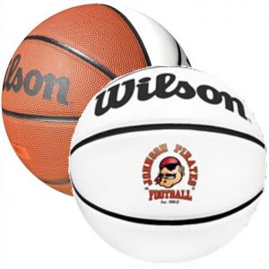 Wilson Synthetic Leather Signature Basketballs