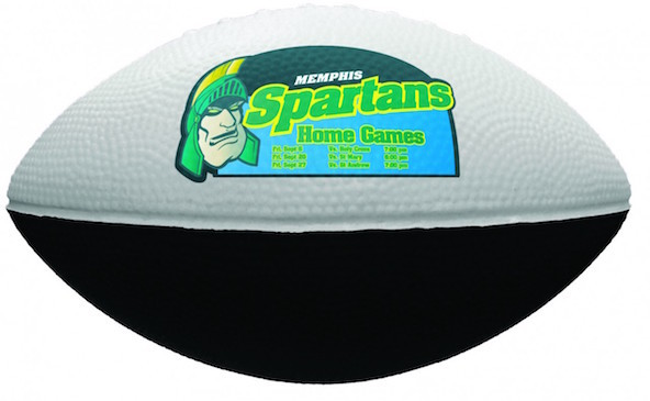 7 inch Two-Tone Foam Footballs