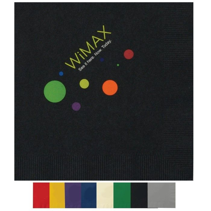 2-Ply Colored Luncheon Napkins - Low Qty