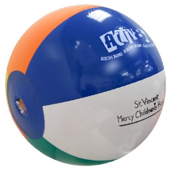 Custom Beachballs - 6 inch - Multicolor