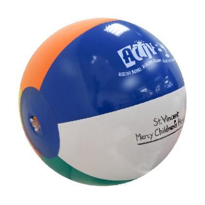 Std 24 inch Multicolor Beachballs