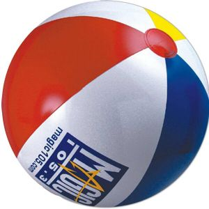 Custom Beachballs - 6 inch Multicolor