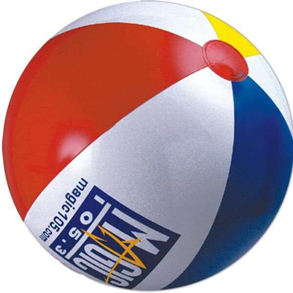 6 inch Multicolor Beach Balls
