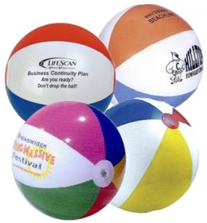 9 Inch Multicolor Beach Balls