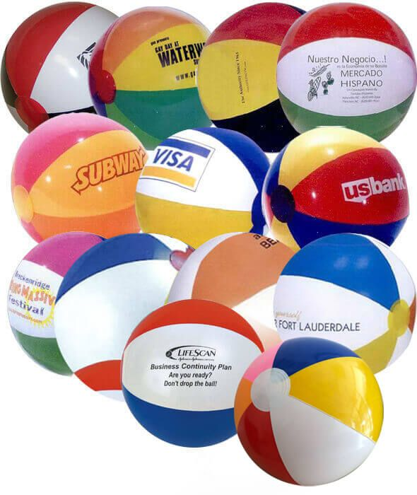 16 inch Multicolor Beach Balls