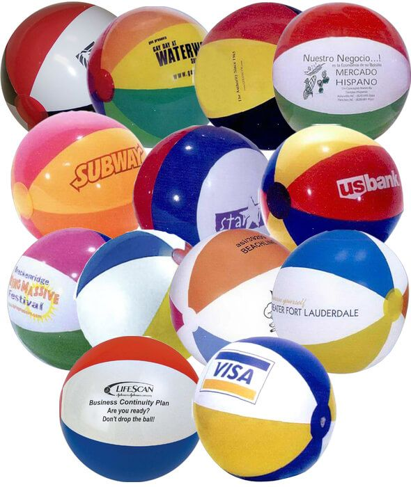 16 inch Multicolor Beach Balls