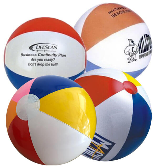 24 inch Multicolor Beach Balls