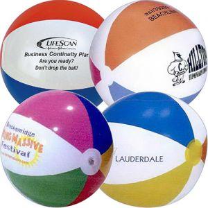 36 Inch Multicolor Beach Balls