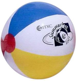 48 inch Multicolor Beach Balls