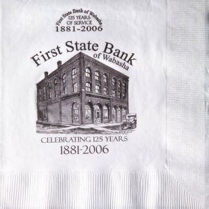 Luncheon Napkins White 3 Ply Low Qty