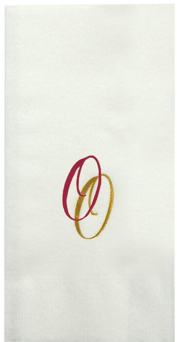 Large Linen Multicolor Guest Towels - Low Qty