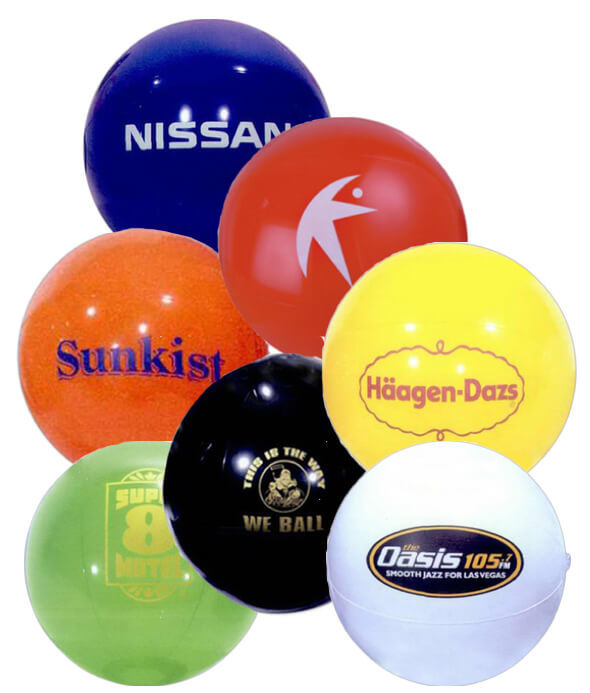9 inch Solid Colored Beach Balls