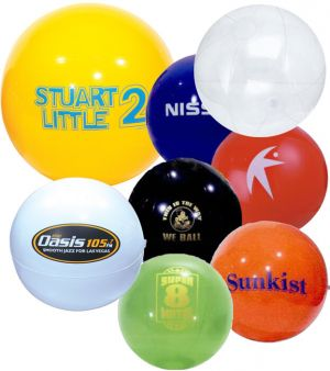 24 inch Solid Colored Beach Balls