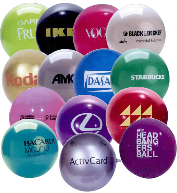 16 inch Special Solid Colored Beach Balls