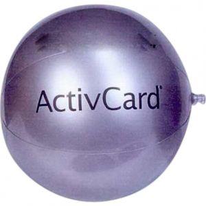 24 inch Silver Beach Balls