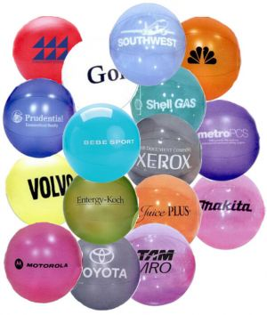 12 Inch Translucent Beach Balls