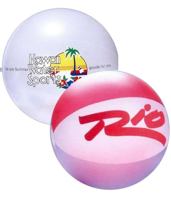20 inch Translucent Beach Balls
