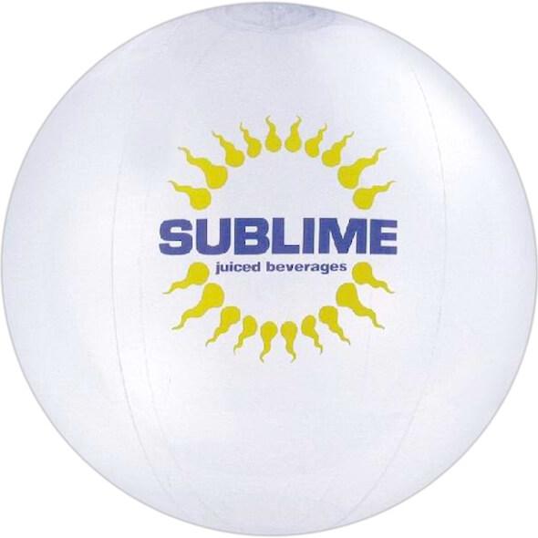 36 inch Translucent Beach Balls