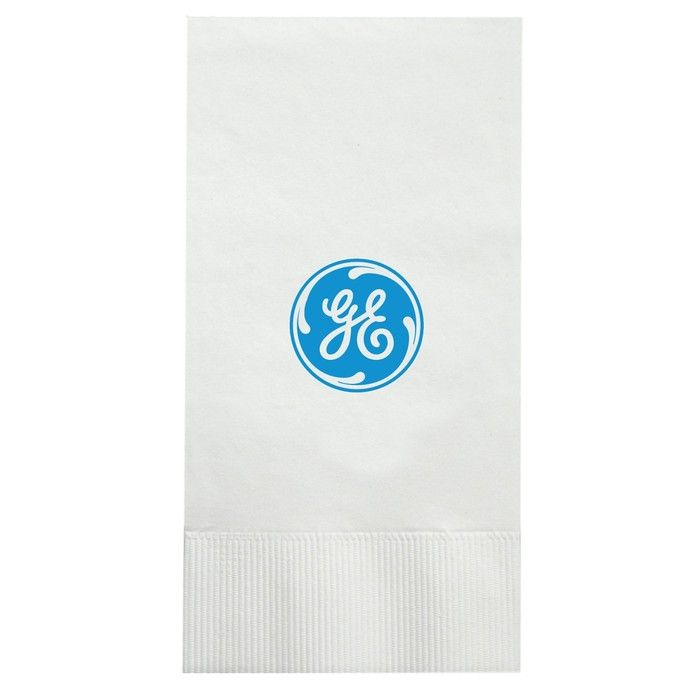 2-Ply White Large Dinner Napkins - Low Qty