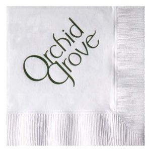 3-Ply White Beverage Napkins - Low Qty